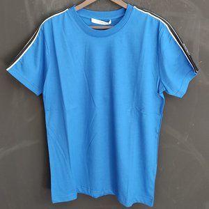Givenchy Blue Short Sleeve Cotton T-Shirt